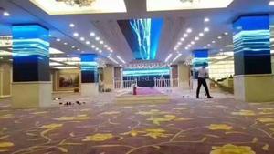 广州市内P4全彩LED显示屏286平米