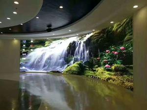 深圳科技馆室内P3全彩显示屏60平米