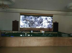 肇庆金利政府室内P3全彩LED显示屏16平米
