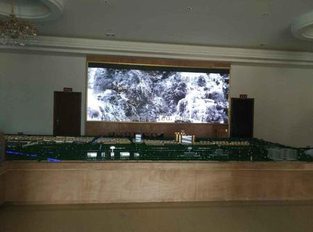 肇庆金利政府室内P3全彩显示屏16平米