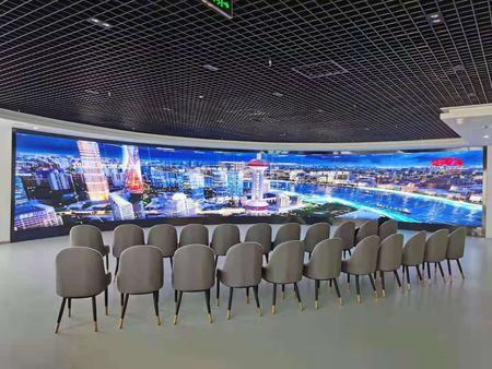 江苏无锡税务局室内p1.875全彩显示屏41平米