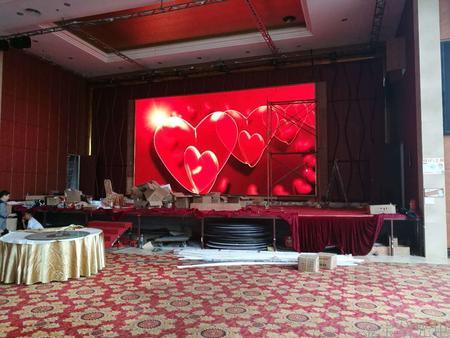 广东佛山富临御品酒楼室内P5全彩屏38.8平米