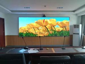 新疆喀什公安局会议室P1.667室内全彩显示屏18平米