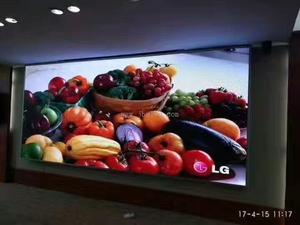 武汉室内P1.667全彩显示屏18平米
