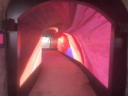 广州南沙炮台隧道显示屏168平米
