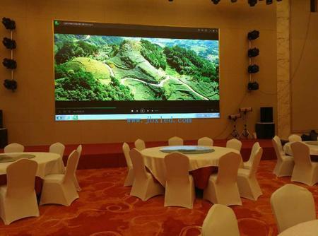 三都圣山国际酒店P2.5室内全彩屏39.6平米