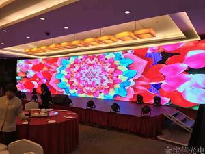 广西柳州室内P3.91LED全彩屏218平米