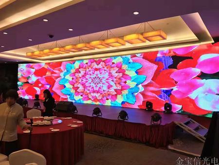 广西南宁室内P3.91全彩屏68平米