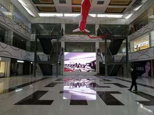 湖北赤壁唯依国际室内P4全彩显示屏36平米