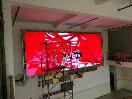 茂名高州室内P5全彩显示屏24平米