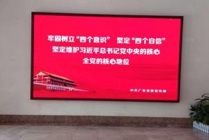 肇庆省运会场馆室内P2全彩显示屏16.8平米