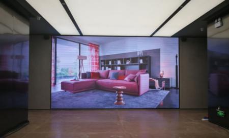 深圳湾1号室内P2.5全彩显示屏26平米