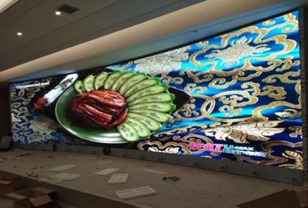 都匀维也纳国际酒店室内P2全彩显示屏32平米